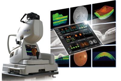 和田眼科医療法人社団の網膜三次元画像解析装置