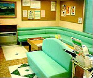 こばやし歯科の待合室