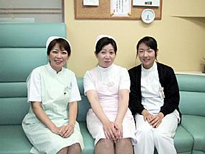ウララ胃腸科外科のスタッフ