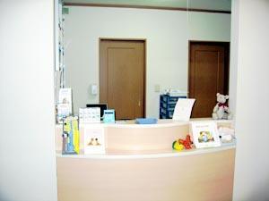 木村歯科医院の受付