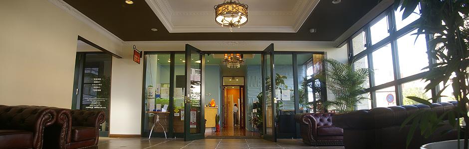 大濠パーククリニック医療法人 清涼会の2階入口