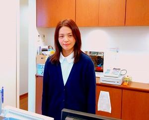 和田眼科医療法人社団の受付