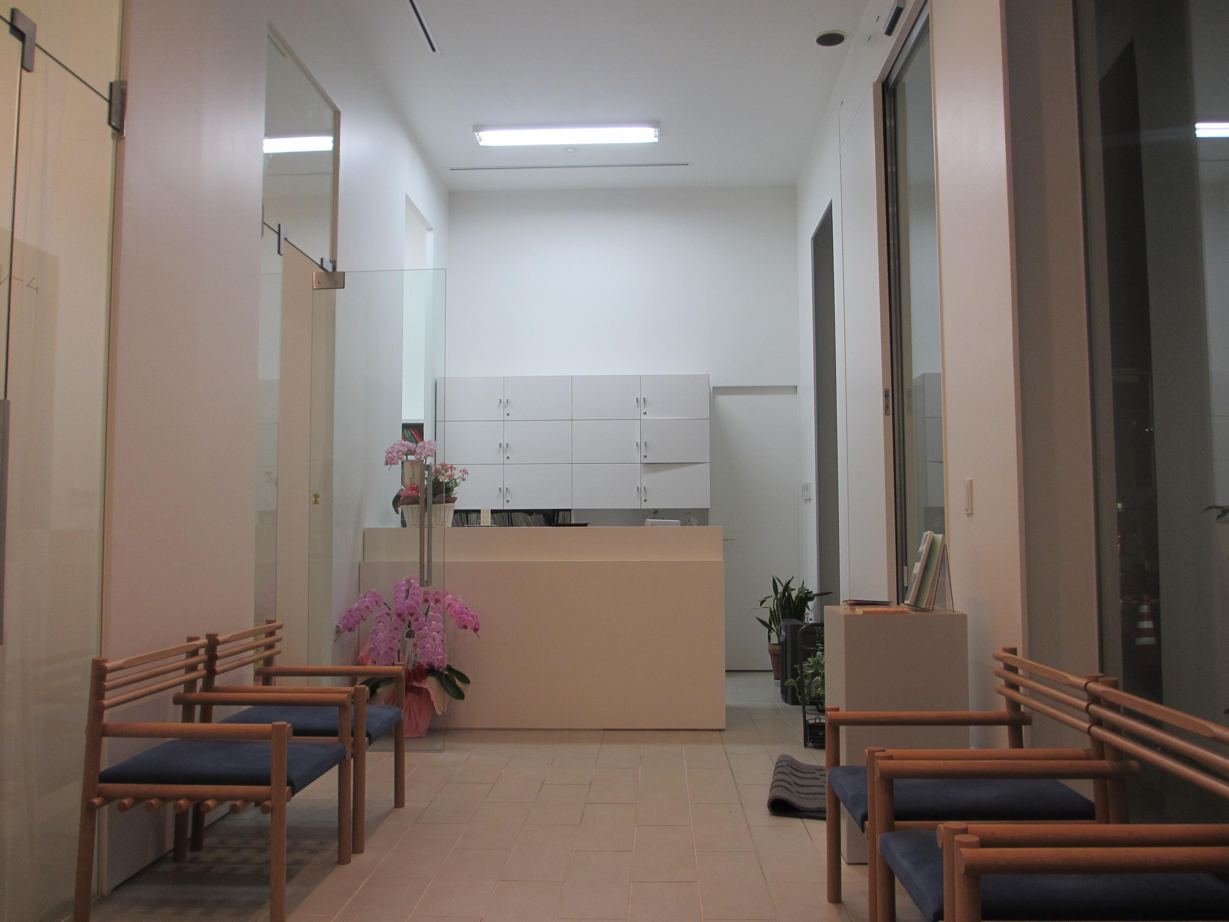 壬生歯科医院の受付