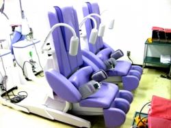 古岡整形外科の能動型自動間欠牽引装置(腰椎牽引)