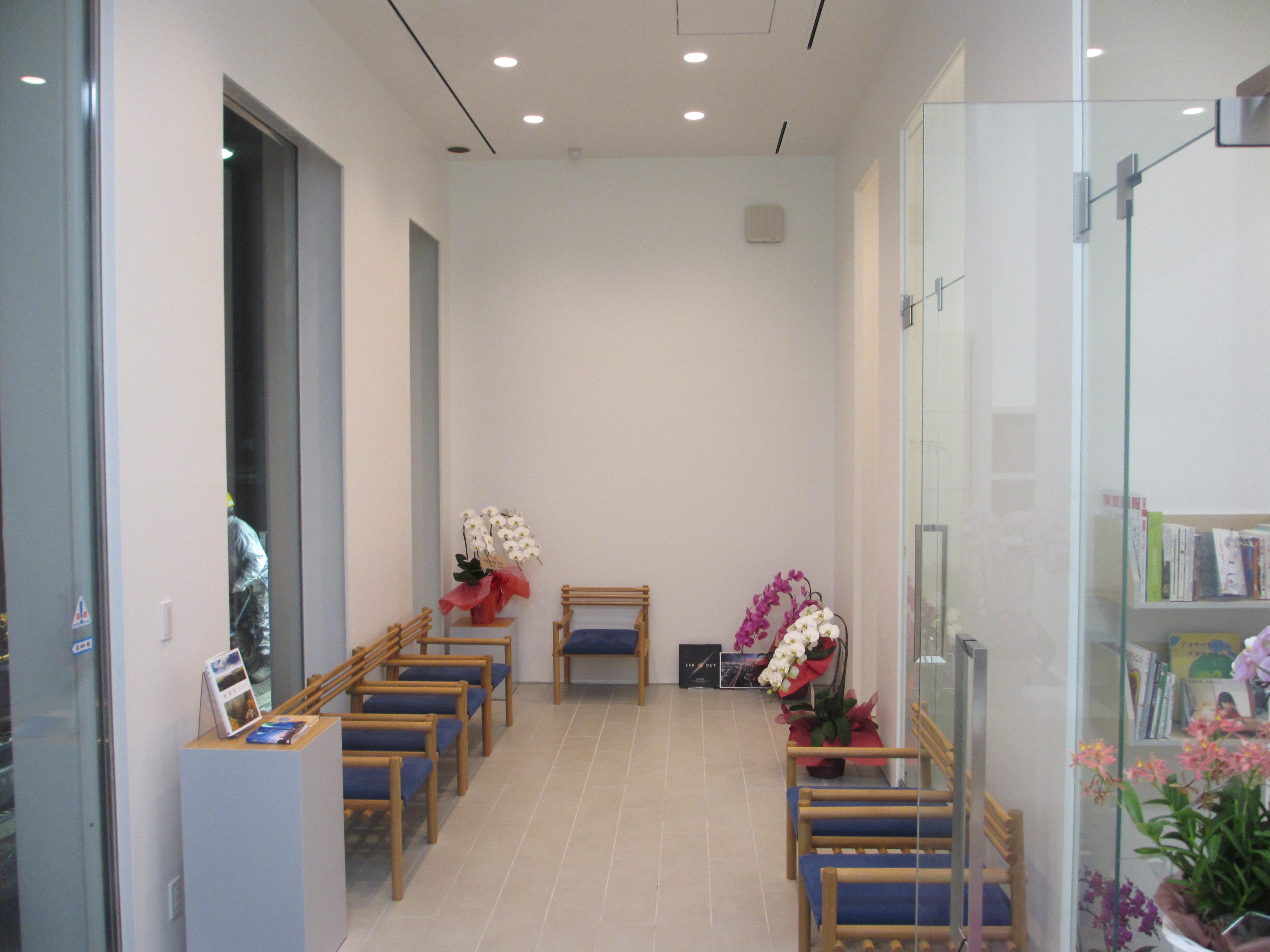 壬生歯科医院医療法人社団歯秀会の待合室
