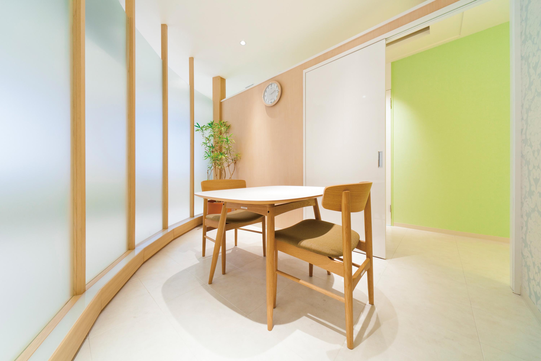 日本橋Fレーザークリニックのカウンセリング室