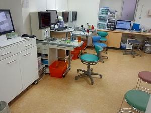 和田眼科医療法人社団の検査室