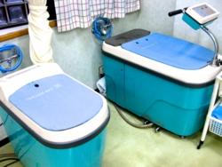 古岡整形外科の上肢・下肢向け温浴療法用装置(バイサタイザー)