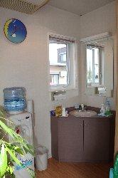鈴木歯科クリニックの手洗い場